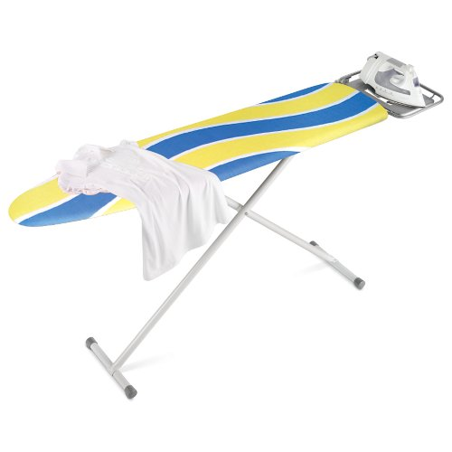 Honey-Can-Do BRD-01296 Deluxe Full-Size Ironing Board with Iron Rest