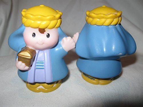 Fisher Price Little People Three Kings Wisemen Nativity Play Set BLUE WISEMAN OOP 2008 - 1