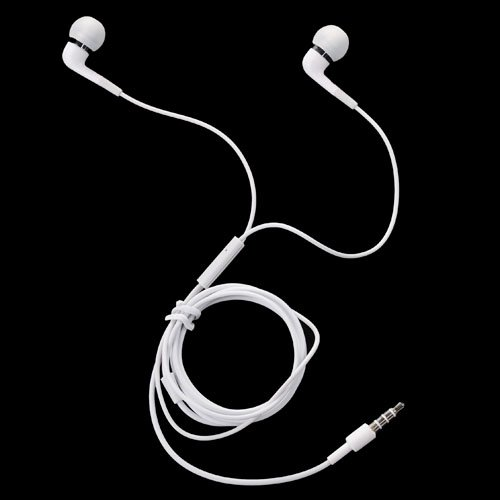 Brand New 3.5Mm In-Ear Earphone For Samsung Galaxy S4 I9500 - White