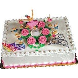 Ballet ballerina cake decorating kit toys games for Ballerina cake decoration