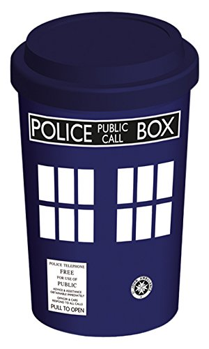 Pyramid International mgt23226 Doctor Who (Tardis) Gobelet de voyage Céramique Multicolore, 9,5 x 9,5 x 15 cm