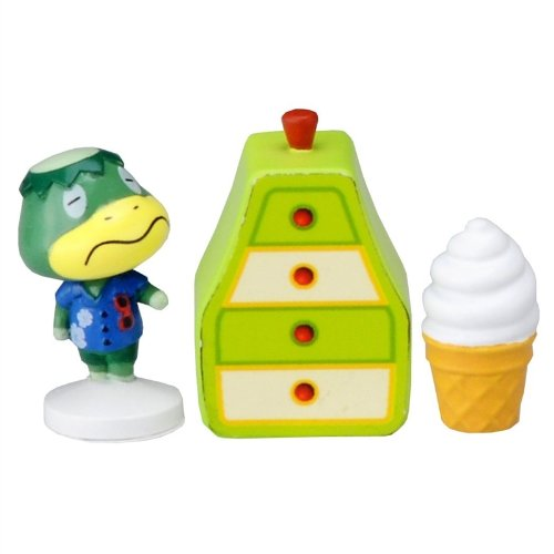 Takaratomy Animal Crossing New Leaf Kapp'n Stamp Figure and Furniture Set - 1