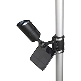 Commercial Grade Solar Powered Flagpole Light