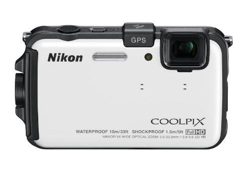 Nikon デジタルカメラ COOLPIX (クールピクス) AW100 ナチュラルホワイト AW100WH