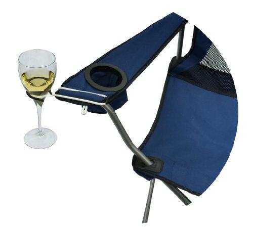 The Wine Hook in black......wine glass holder