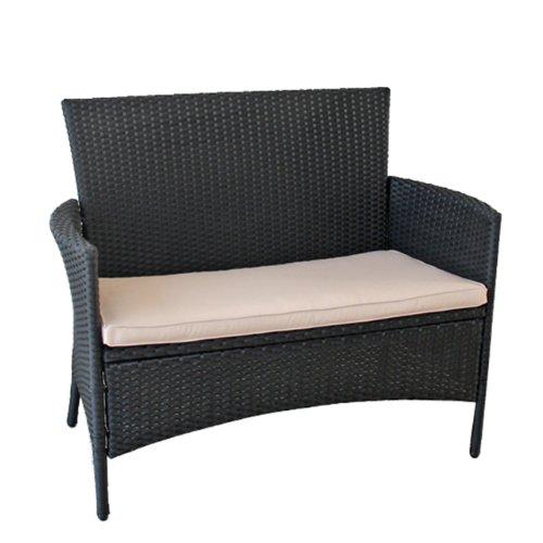 gartenbank rattan braun 084402 eine interessante idee f r die gestaltung einer. Black Bedroom Furniture Sets. Home Design Ideas