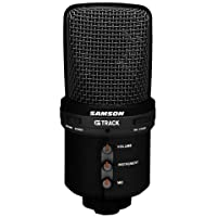 Samson G-Track USB Recording Supercardioid Microphone (Black)