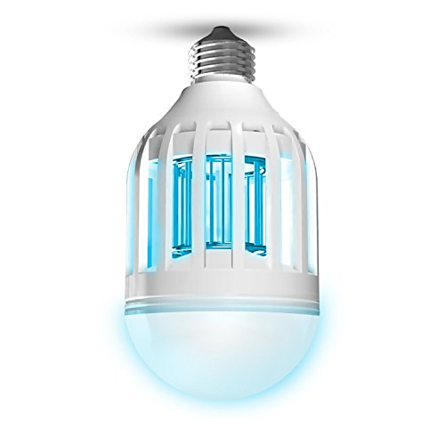 awardpedia outxpro mosquito light bulb bug zapper flying insects. Black Bedroom Furniture Sets. Home Design Ideas