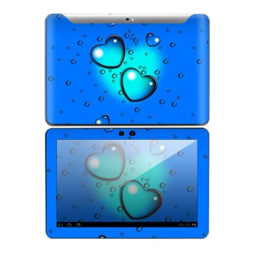 Love Drops Design Decorative Skin Cover Decal Sticker for Samsung Galaxy Tab 10.1 Android Tablet
