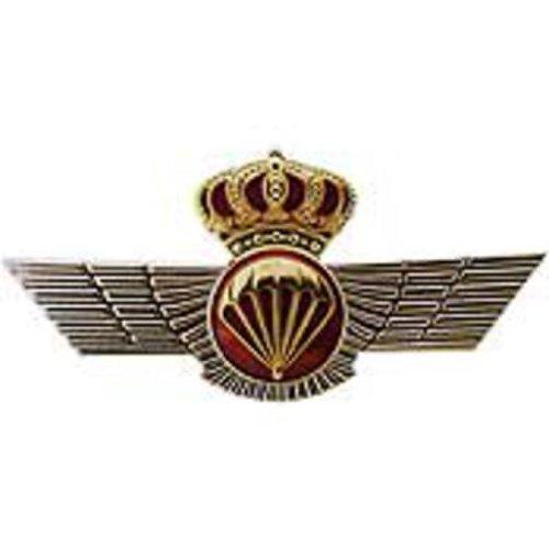 Spanish Jump Wings Pin 3 1/2