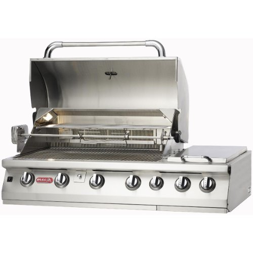 bull premium 7 burner stainless steel built in propane gas. Black Bedroom Furniture Sets. Home Design Ideas