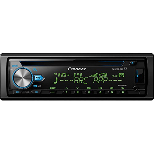 Pioneer DEH-X6900BT Vehicle CD Digital Music Player Receivers, Black