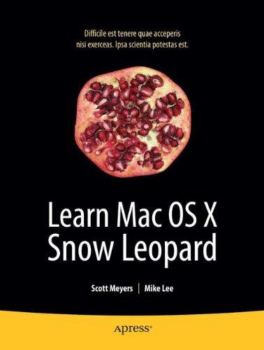 Learn Mac OS X Snow Leopard (Learn Series)