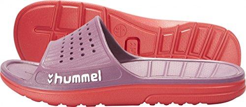 Hummel Sport Sandal rosa-rosso Badelatschen GRAPE JUICE, 45 [misc.]