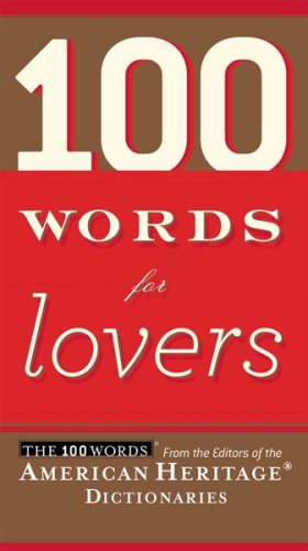100 Words for Lovers