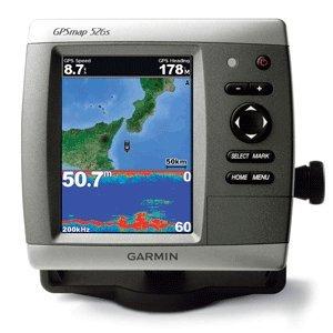 GARMIN GPSMAP 526S GPS CHART FISHFINDER W/O XDUCER (36355)