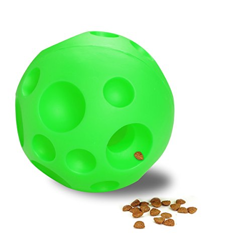 Dog-Treat-Ball-Fun-FeederSafety-Rubber-Jakpak-Training-Toys-IQ-Treats-Dogs-Toy-Ball-Refillable-Food-Treat-Ball-for-Dog-Dispensing-Toy-Interactive-Pet-Ball-Tricky-Treat-Toy-45-Inch-Large-Size