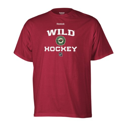 Sale alerts for Reebok Minnesota Wild Authentic Progression T-Shirt (Red) Size M - Covvet
