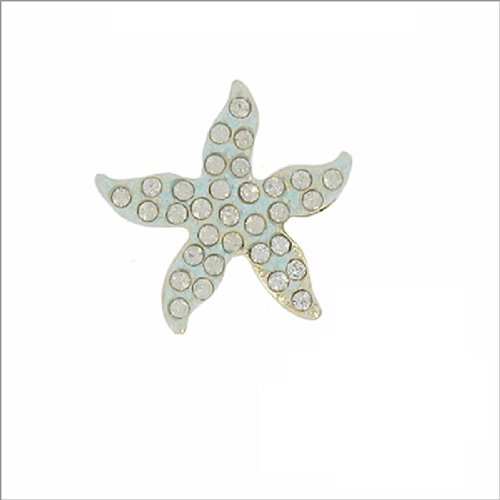 Starfish W Stone Design Pin #038238