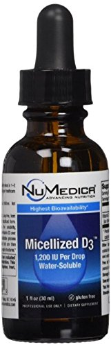 NuMedica - Micellized D3 1200 *Higher Potency* - 1 oz
