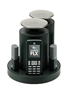 Revolabs FLX2 Pots Analogue Wireless Conference System with 2 Omni-Directional Microphones and 2 Speakers