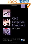 Civil Litigation Handbook 2013-2014 (Legal Practice Course Guide)