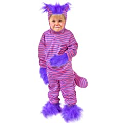 Toddler Alice in Wonderland Cheshire Cat Costume (Size: 2T-4T)
