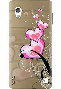 Noise Designer Printed Case / Cover for InFocus M370 / Bling / Art Of Love Design