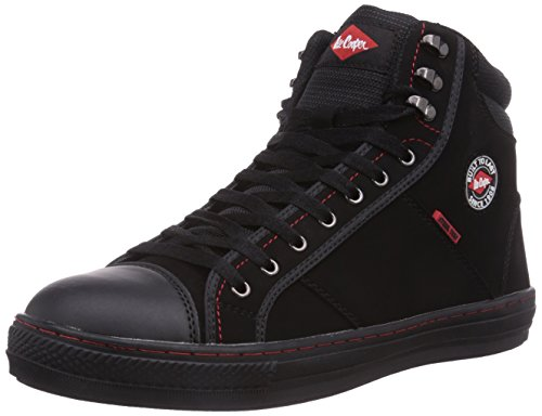 Lee Cooper Workwear Sb Boot - Stivali Unisex Nero, 46