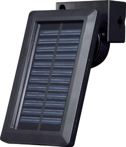 ELPA ソーラー発電式LEDセンサーライト2灯 ESL-102SL(BK)