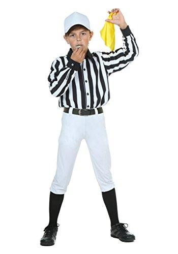 [Fun Costumes boys Child Referee Costume Large] (Referee Shirts Costume)