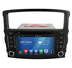 See Carfond 7 Inch Android 4.4.4 Double Din Car DVD Player GPS Navi Stereo In Dash Navigation Support Bluetooth OBD2 DVR AV-IN 3G/Wifi AM/FM Radio 1080P for MITSUBISHI PAJERO V97/V93 2006-2011(Plug and Play,Easy Installation) Details