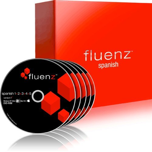 Fluenz Version F2: Spanish 1+2+3+4+5 with supplemental Audio CDs and Podcasts
