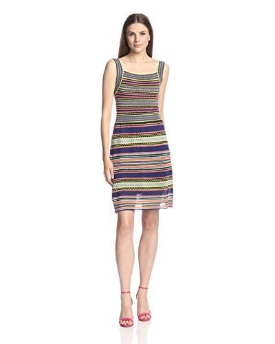 M Missoni Women's Square Neck Knit Dress