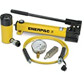 Enerpac SCR-256H Single Acting Cylinder Pump Set RC-256 Cylinder with P-392 Hand Pump