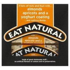Eat Natural Yoghurt Almond & Apricot Bars 3 X 50G