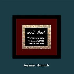 Js Bach Transcriptions for Viola Da Gamba