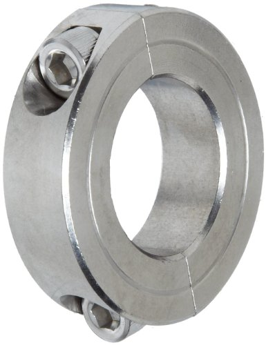 Clamp on shaft collars climax metal c s t
