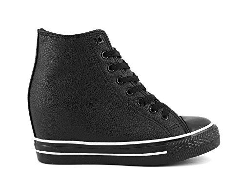 Sneaker con zeppa interna Cafè Noir DG916 (39)