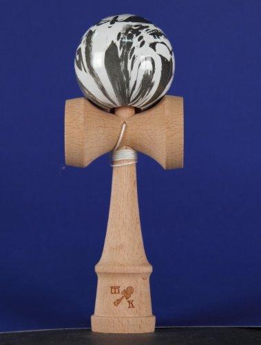 Kendama: Marbleized Skulls, Includes Extra String