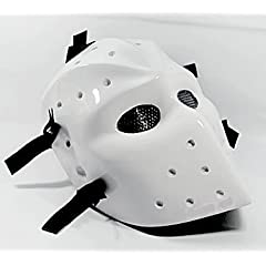 HEAT WHITE AIRSOFT HOCKEY GOGGLE MASK,Airsoft Hockey mask,Heat mask,Goalie... by D.I.Y Mask Mo