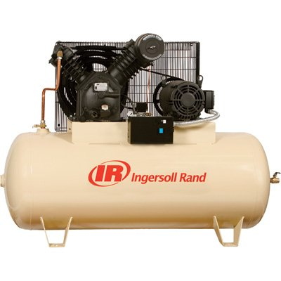 - Ingersoll Rand Type-30 Reciprocating Air Compressor - 15 Hp, 230 Volt 3 Phase, Model# 7100E15-V