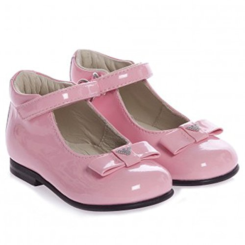 Armani Pink Baby Shoes (18) front-348057