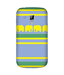 Stripes And Elephant Print (20) Samsung Galaxy S Duos S7562 Case