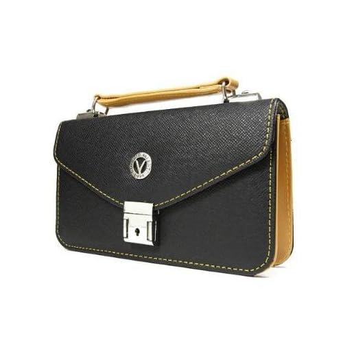 【GIORGIO VALENTI】ジョルジオ バレンチ ウォレット付 セカンドバッグ 2300166 (ブラック)