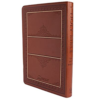 Holy Bible: KJV Large Print Thumb Index Edition: Tan (King James Bible)