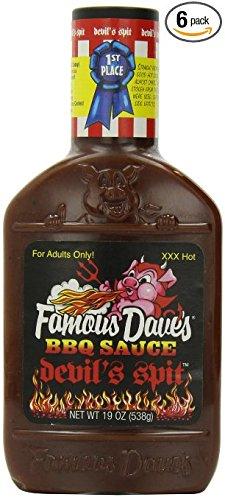 Famous Dave's BBQ Sauce, Devil's Spit 19 Oz (Pack of 3)