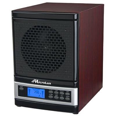 MicroLux ML4000D Pro UV Air Purifier HEPA Carbon Ion Air Cleaner - ML4000DCH