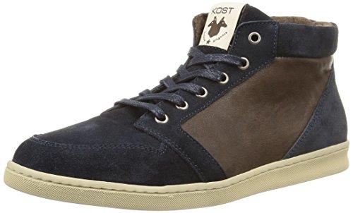 Kost - Balikun, Sneakers da uomo, blu (navy/marron), 41
