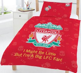 Liverpool FC Duvet Cover Bedding Set - Junior by Official Football Merchandise